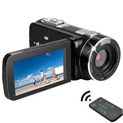HD Digital Video Recorder Camera Camcorder,24MP 1080P Full H