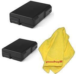 2-Pack/2 Piece MegaAccessory Replacement Nikon EN-EL14 / ENE