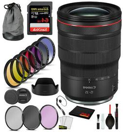 Canon RF 15-35mm f/2.8L IS USM Lens with Professional Bundle