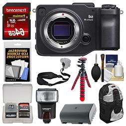 Sigma sd Quattro H Digital Camera Body with 64GB Card + Back