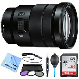 Sony SELP18105G - E PZ 18-105mm f/4 G OSS Power Zoom Lens Bu