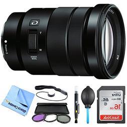 Sony SELP18105G - E PZ 18-105mm f/4 G OSS Power Zoom Lens Bu