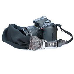 Camera Shoulder Neck Strap, Sugelary Vintage Fabric Satin Sc