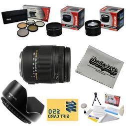 Sigma Super Zoom 18-250mm f/3.5-6.3 DC Macro OS HSM  883-306