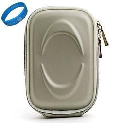 Silver EVA VG Compact Semi Hard Protective Camera Case for S
