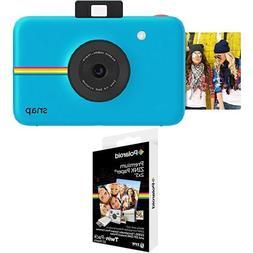 Polaroid Snap Instant Digital Camera  with Polaroid 2x3 inch