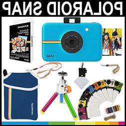 Polaroid Snap Instant Camera  + 2x3 Zink Paper  + Neoprene P