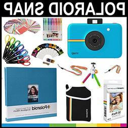 Polaroid Snap Instant Print Camera Gift Bundle + ZINK Paper