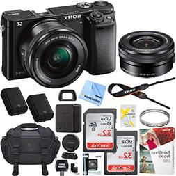 Sony Alpha a6000 Mirrorless Digital Camera 24.3MP SLR  w/ 16