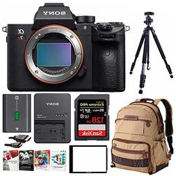 Sony Alpha a7RIII Mirrorless Camera w/ Vanguard Backpack & 1