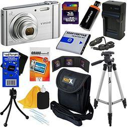 Sony Cyber-shot DSC-W800 20.1 MP Digital Camera with 5x Zoom