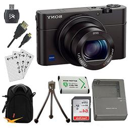Sony DSC-RX100M III Cyber-shot Digital Still Camera Bundle w