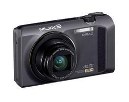 Casio High Speed Exilim Ex-zr100 Digital Camera Black Ex-zr1
