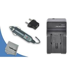 High Speed Quick AC/DC Charger Kit for Nikon Coolpix P3, P4,
