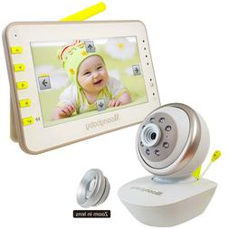 Save $10 on Coupon! MoonyBaby Video Baby Monitor Remote Came