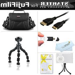 Starter Accessories Kit For The Fuji Fujifilm Finepix S8200