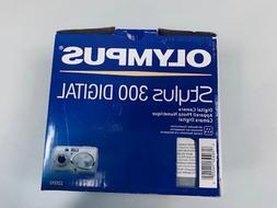 Olympus Stylus 300 3.2MP Silver Digital Camera - USED