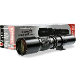 Super 500mm1000mm f8 Manual Telephoto Lens for Nikon D4S, DF