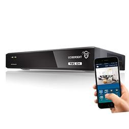 TIGERSECU Super HD 1080P 4-Channel Hybrid 5-in-1 DVR NVR Sec