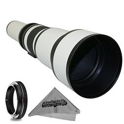Super 650-1300mm f/8-16 HD Telephoto Zoom Lens for Olympus P