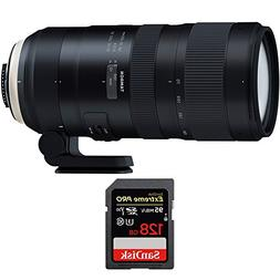 Tamron SP 70-200mm F/2.8 Di VC USD G2 Lens  for Canon Full-F