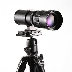 Ruili 420-800mm F/8.3-16 High Definition Telephoto Zoom Lens