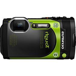 Olympus TG-870 Tough Waterproof 16MP Green Digital Camera