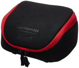 Olympus Tough System Bag for Cameras - Black with Red Trim