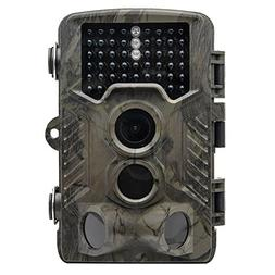 TOP-MAX Trail Camera,1080P 16MP Digital Wildlife Hunting Gam