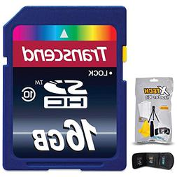Transcend 16GB High Speed Memory Card KIT for Nikon Coolpix
