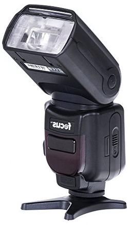 Focus Camera Professional Zoom TTL Speedlite Flash - with Bu