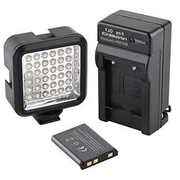 SUPON Ultra-Bright LED 36 Video Light Continuous on Camera L