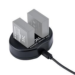 JJC USB Battery Charger for Fuji Fujifilm X-T20/X-T10/X-T2/X