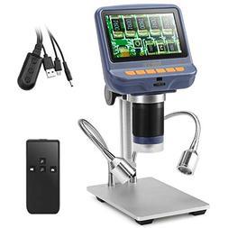 Koolertron 4.3 Inch 1080P LCD Digital USB Microscope with 10