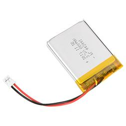 uxcell Power Supply DC 3.7V 660mAh 443441 Li-ion Rechargeabl