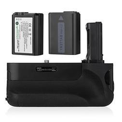 Powerextra VG-C1EM Battery Grip + 2-Pack High Capacity 1500m