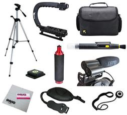 Opteka Videographers Deluxe Filming Kit with VM-100 Micropho