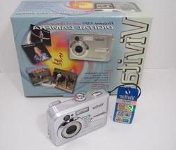 Vivitar ViviCam 5385 5.0MP Digital Camera - Silver