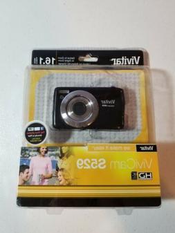 Vivitar ViviCam S529 16.1 Megapixel Compact Digital Camera -
