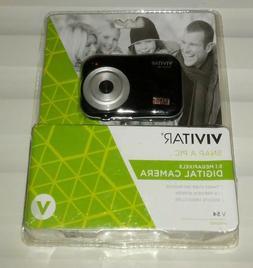 Vivitar ViviCam V54. 5.1 Pixels. Shoots Video Clips. Holds o