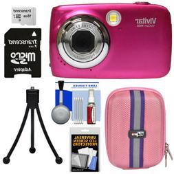 Vivitar ViviCam VX022 Digital Camera Bundle