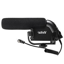 Vivitar Shotgun Condenser Microphone with Bracket + 2 Wind S