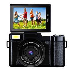 Digital Camera Vlogging Camera Full HD1080p 24.0MP 3.0 Inch
