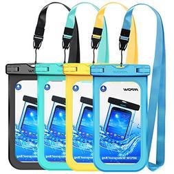 Mpow Waterproof Phone Pouch, IPX8 Universal Waterproof Case