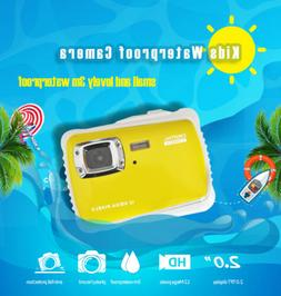 Waterproof CMOS HD 720P LCD Compact Digital Camera Gift for