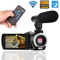 Digital Camera Wifi Camcorder Full HD 1080p 30FPS 24.0MP 16X