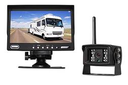 "Auto-Vox Digital Wireless Backup Camera System with 7"" HD Ba"