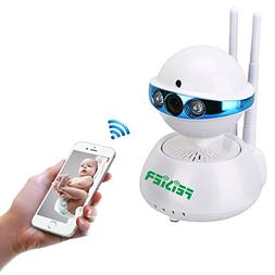 FEISIER Wireless Dome Camera 960P 1.3M IP Security Surveilla