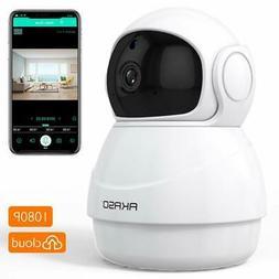 Wireless Security Camera 1080P WiFi IP - AKASO HD Baby/Pets