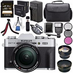 Fujifilm X-T20 Mirrorless Digital Camera with 18-55mm Lens